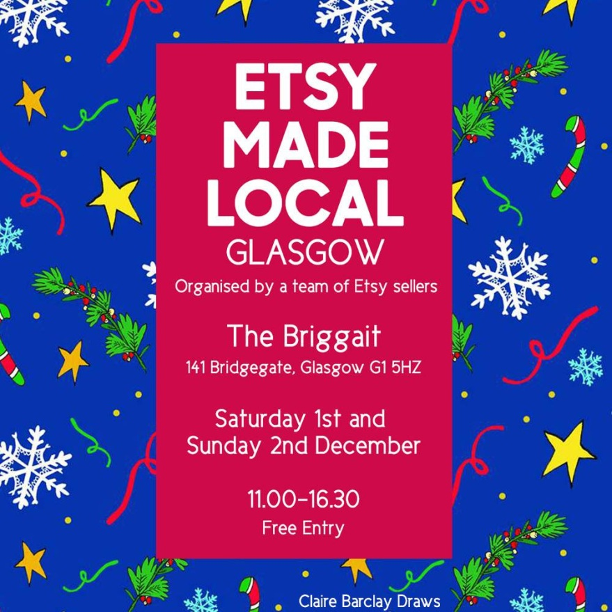Etsy Made Local 1st and 2nd December Fair